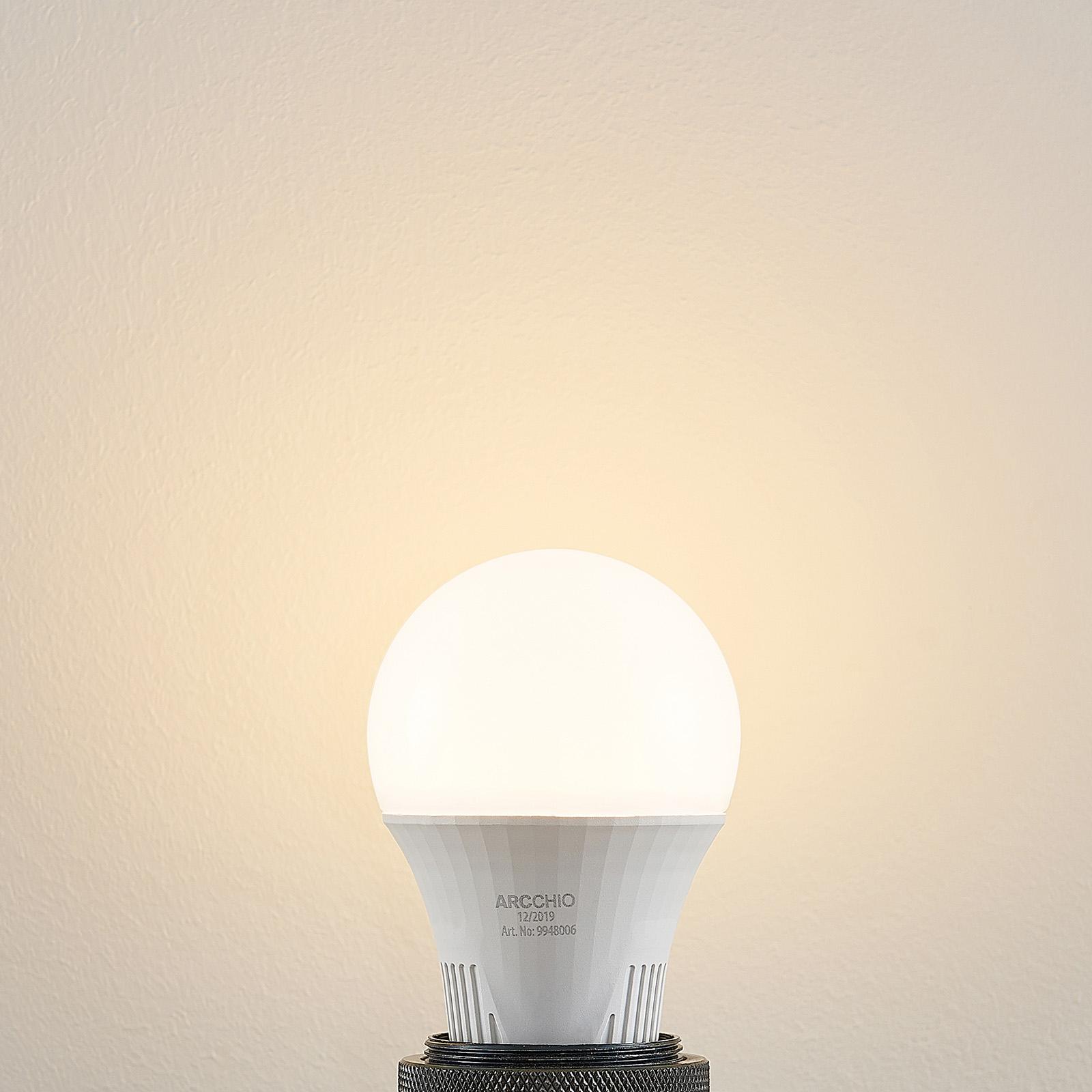 LED-lamppu E27 A60 9 W 3 000 K, 3-vaih. himmennys