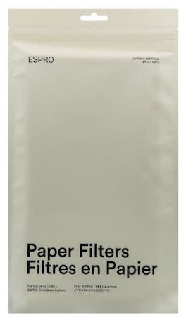 Espro Cold Brew Papirfilter Papirfilter For Kaldt Brygg