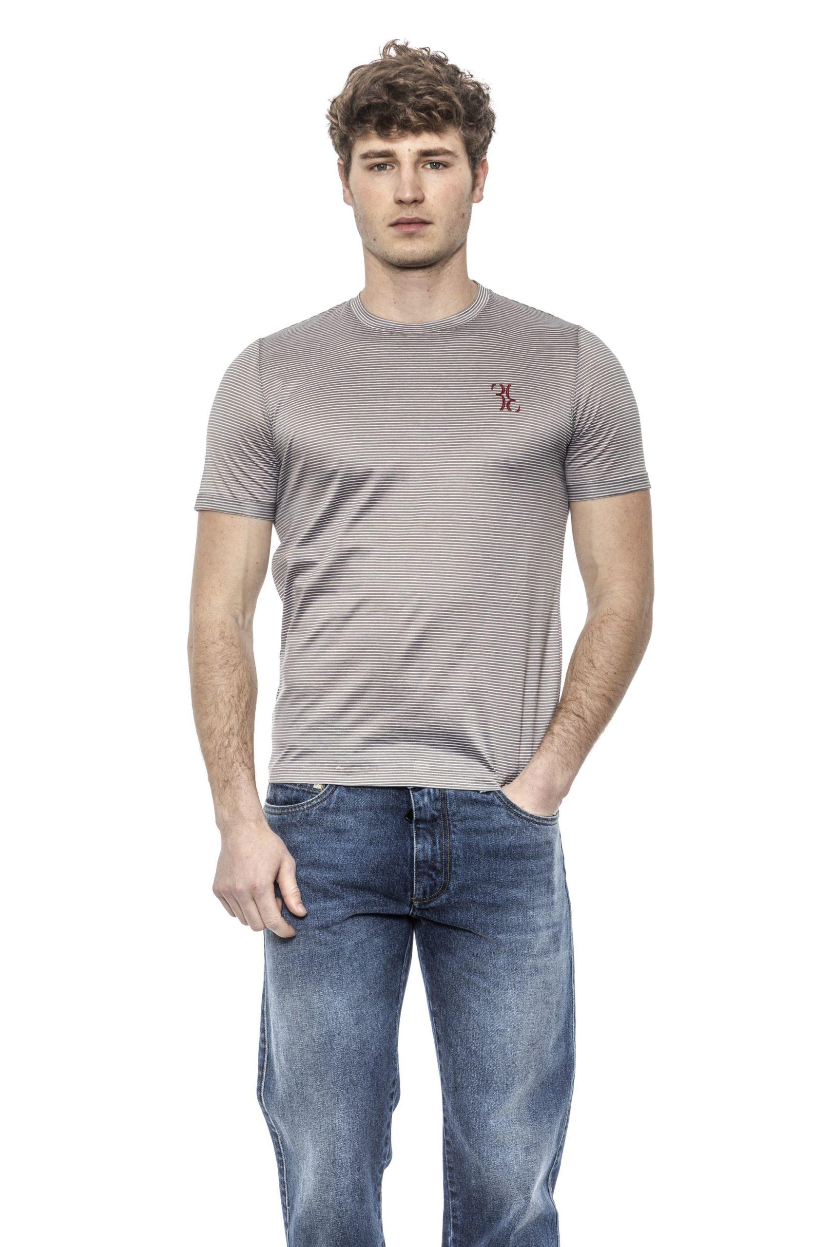 Billionaire Italian Couture Men's Sabbia T-Shirt Beige BI1397998 - IT46 | S