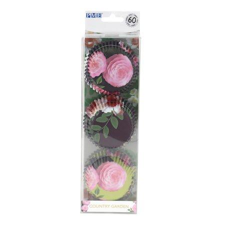 Muffinsformer Blomster 30-pakning