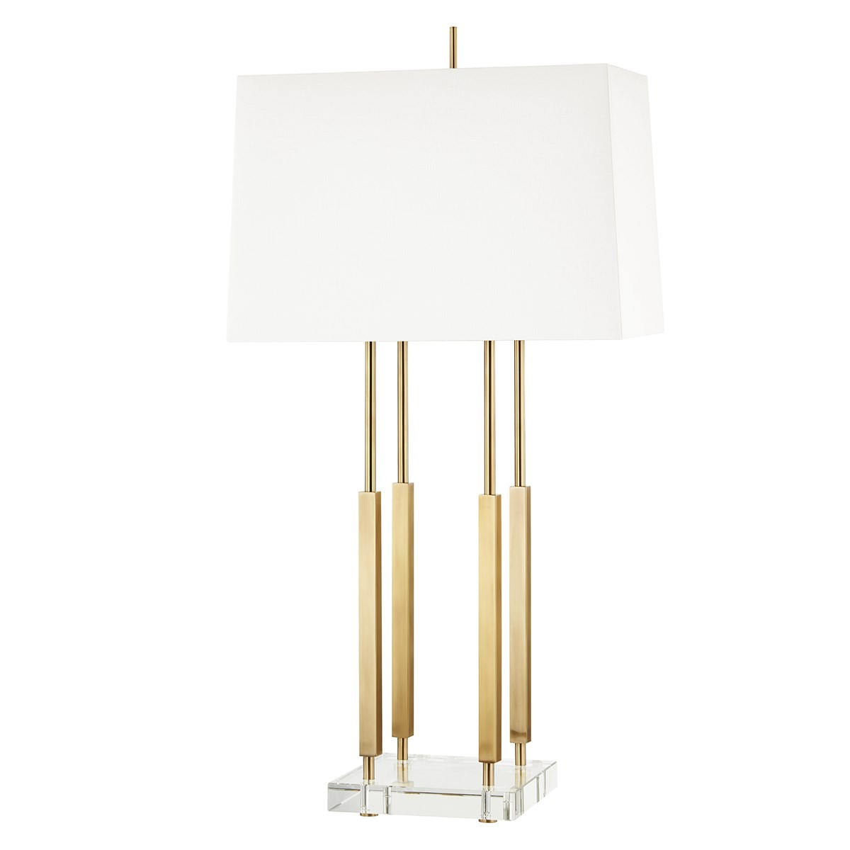 Hudson Valley I Rhinebeck Table Lamp I Aged Brass