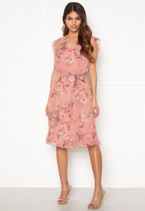 Happy Holly Sally dress Pink / Floral 40/42