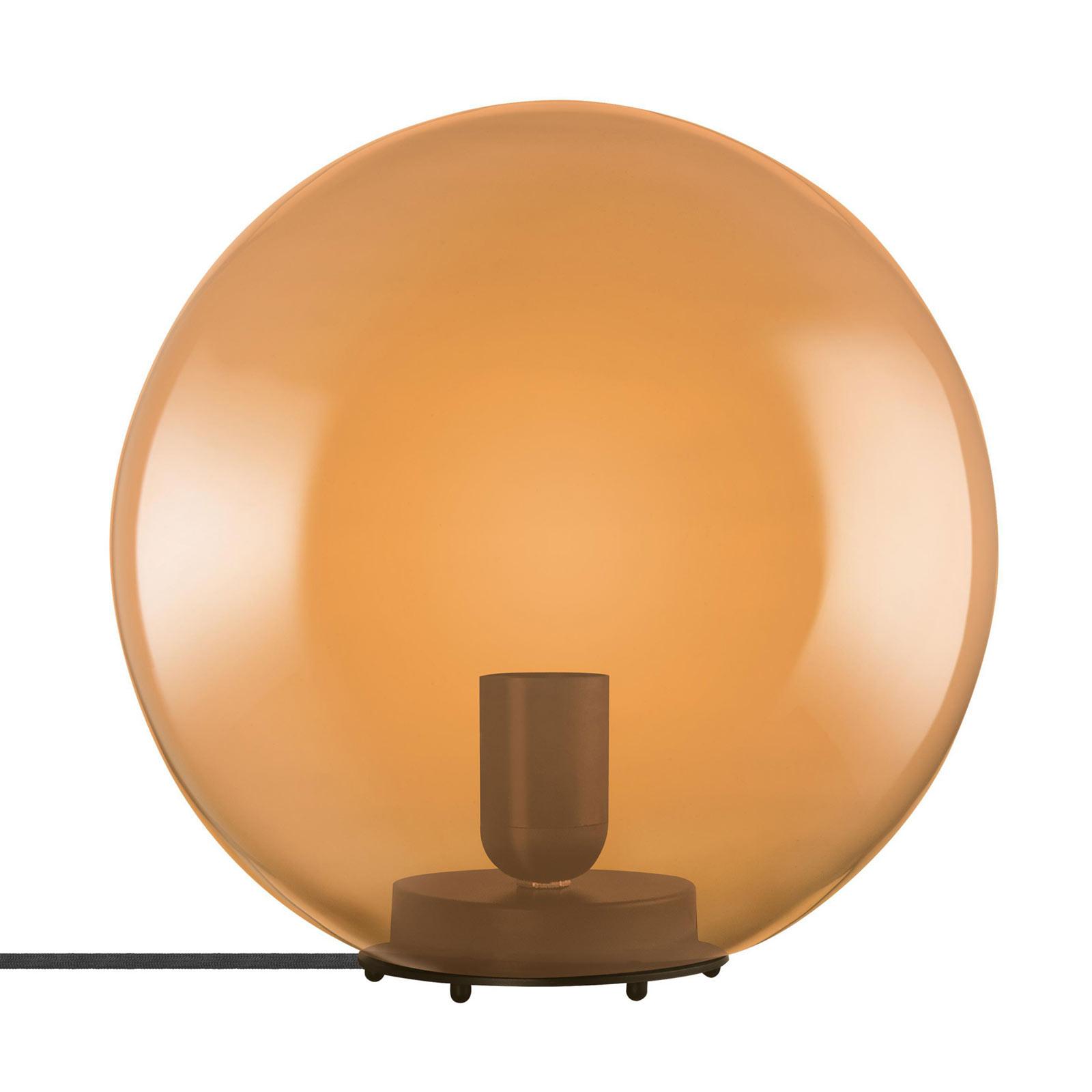 LEDVANCE Vintage 1906 -pöytälamppu Bubble, oranssi