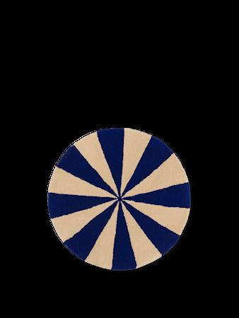 Arch Tuftad Matta Small Bright Blue/Off-White