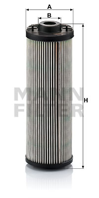 Suodatin, työhydrauliikka MANN-FILTER HD 1060