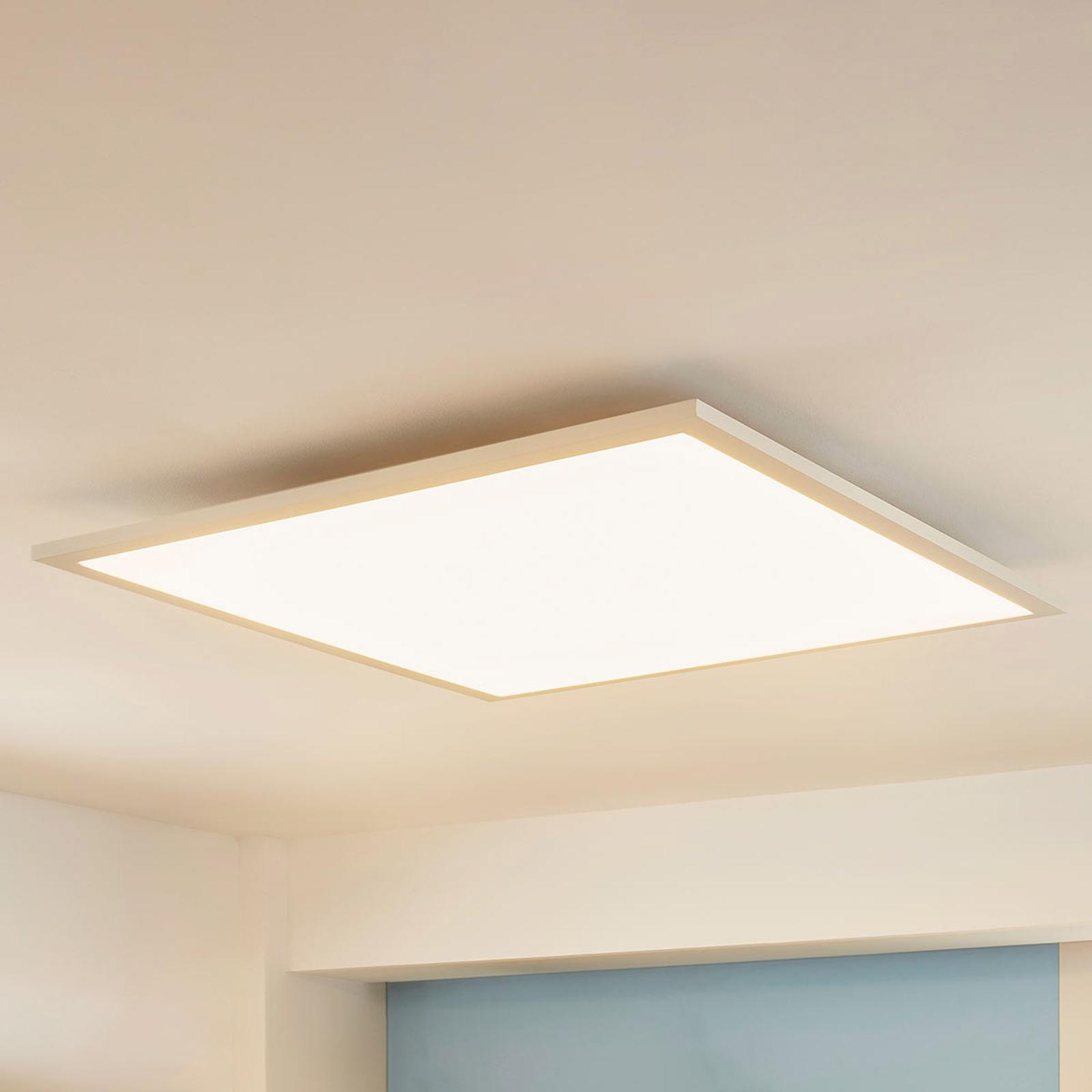 Arcchio Enja -LED-paneeli, 62 cm x 62 cm