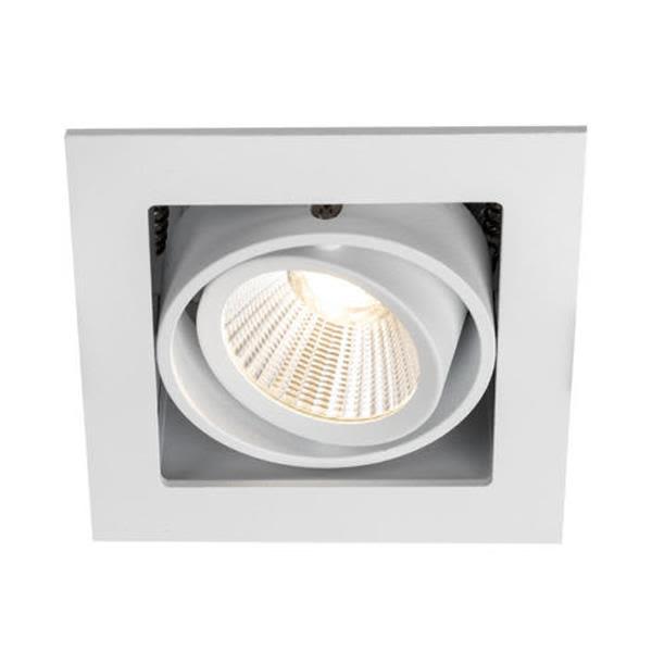 Hide-a-Lite Optic Box I Downlight-valaisin valkoinen 2700K, 525 lm