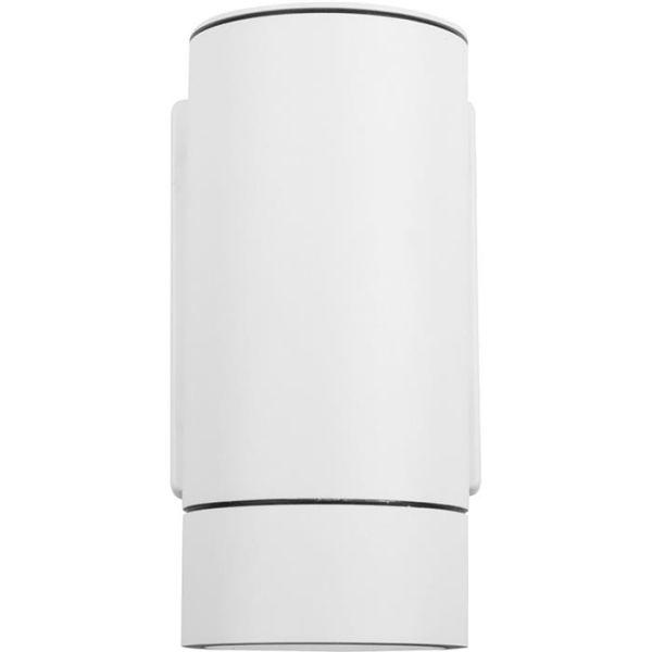 Hide-a-Lite Milo I GU10 Veggarmatur IP55 Hvit
