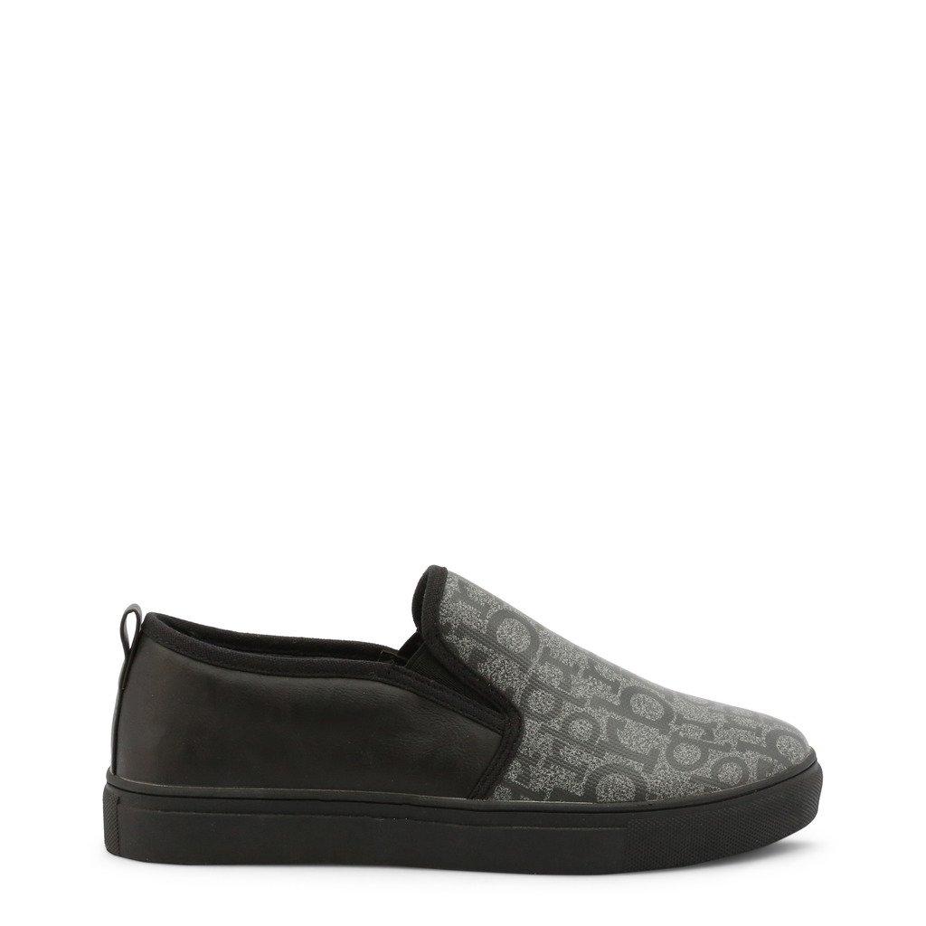 Roccobarocco Women's Slip on Shoe Grey RBSC0VB02 - grey EU 40