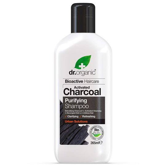 Dr. Organic Activated Charcoal Purifying Shampoo, 265 ml