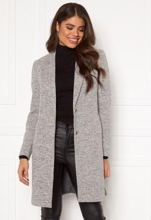 ONLY Carrie Mel Coat Light Grey Melange 36