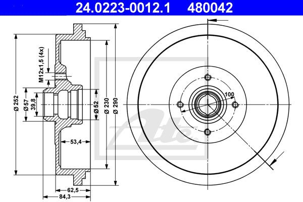 Jarrurumpu ATE 24.0223-0012.1