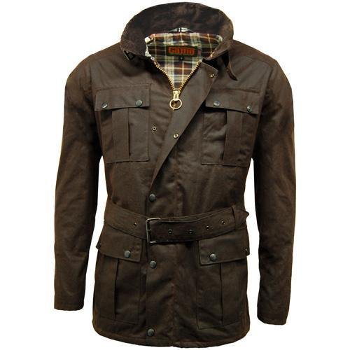 Game Technical Apparel Unisex Jacket Various Colours Continental - Brown S