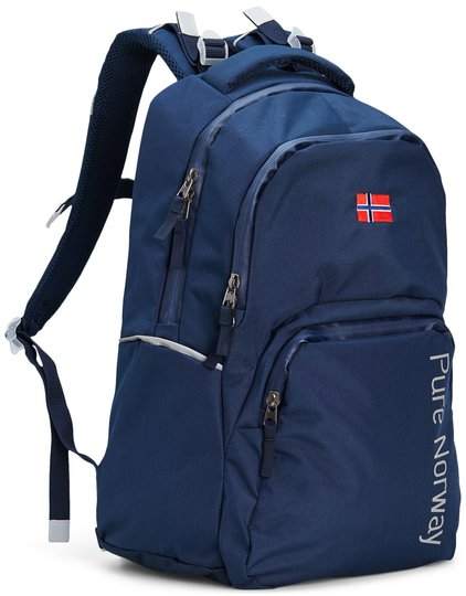 Pure Norway Free Waterproof Ryggsekk, Blå