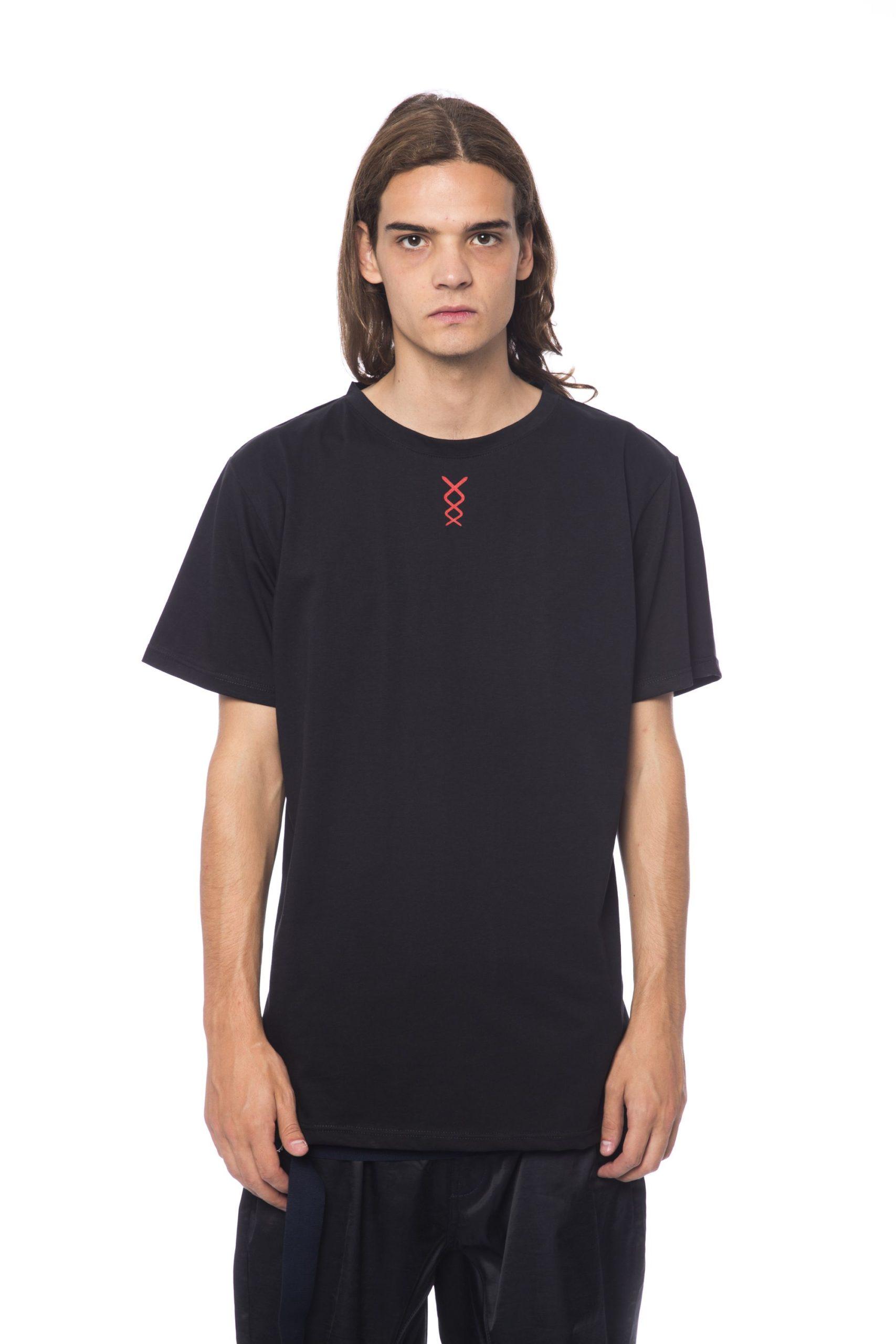 Nicolo Tonetto Men's Nero T-Shirt Black NI681914 - S