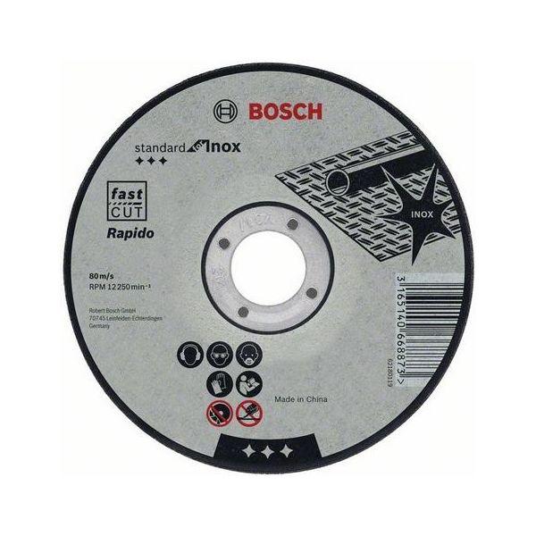Bosch Standard for Inox Kappskive 115x1mm 1-pakn.