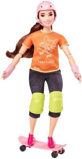Barbie Olympics Dukke Rullebrettkjører