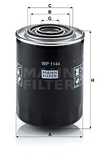 Öljynsuodatin MANN-FILTER WP 1144