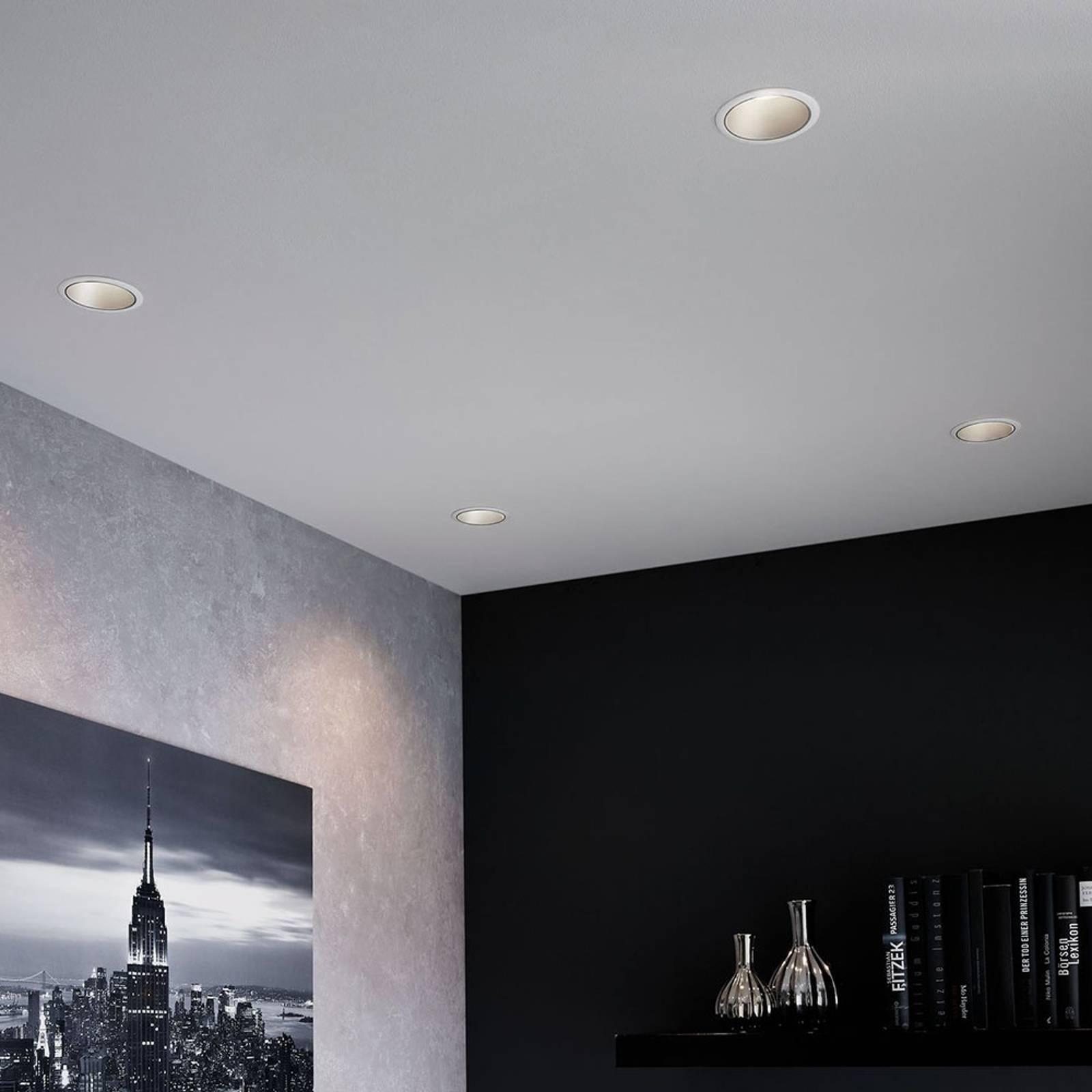 Paulmann Cole Spotlight GU10, valkoinen/hopea