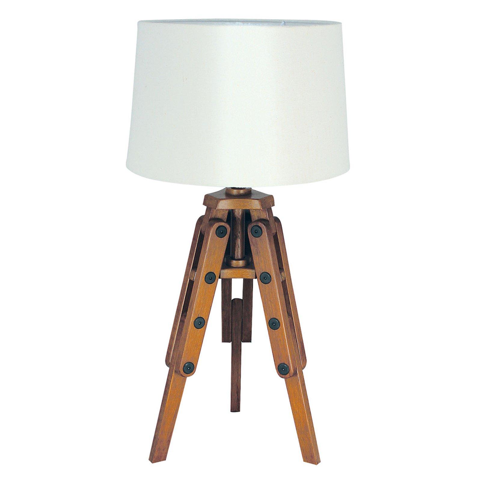 Tre-bordlampe Marvin i stativform