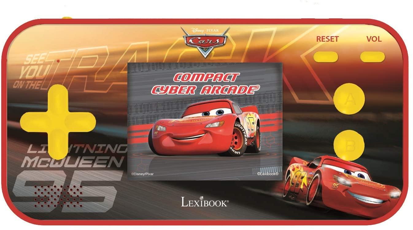 Lexibook - Handheld console Compact Cyber Arcade Disney Cars (JL2367DC)