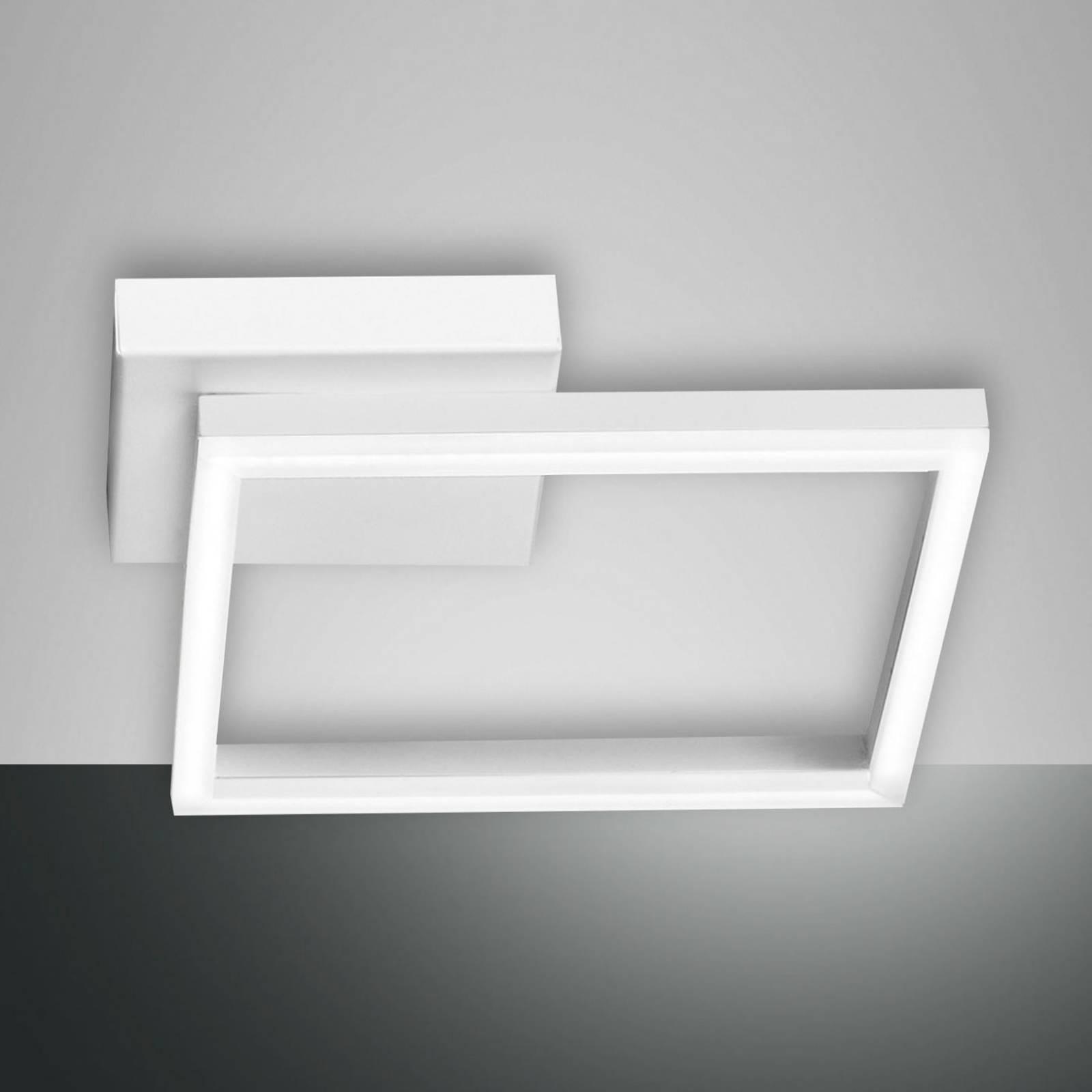 LED-kattovalaisin Bard, 27x27cm, valkoinen