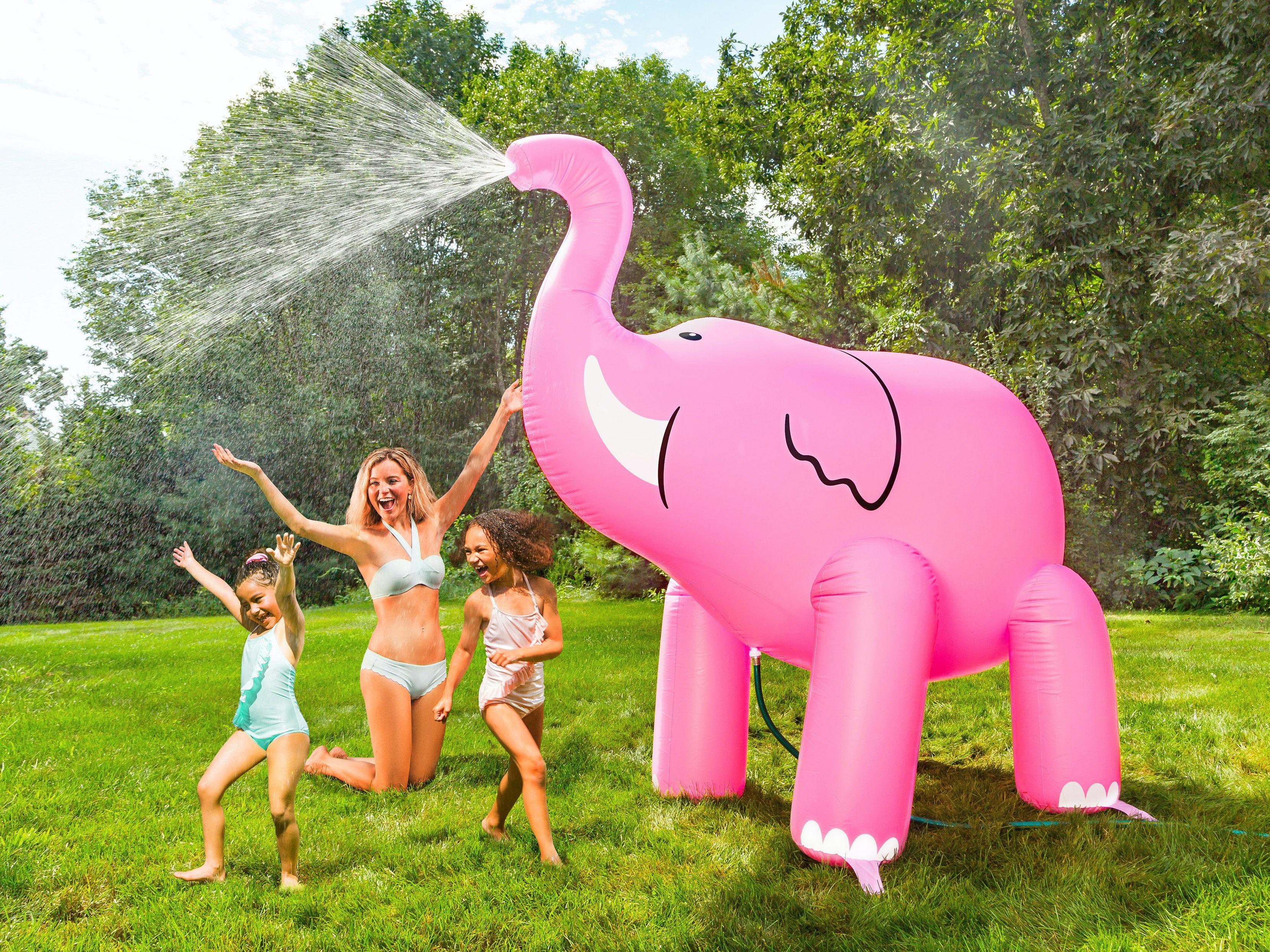 Vattenspridare Gigantisk Uppblåsbar Elefant