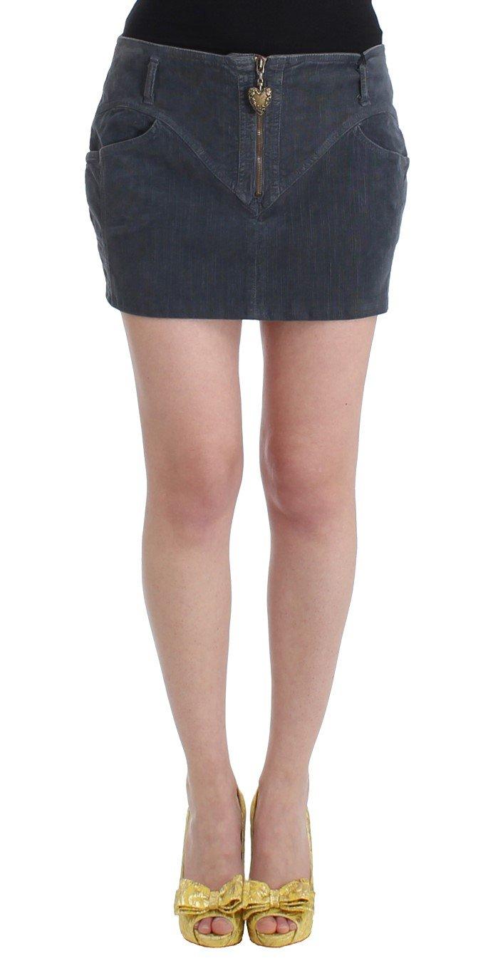 Cavalli Women's Skirt Blue SIG11821 - IT48|XXL