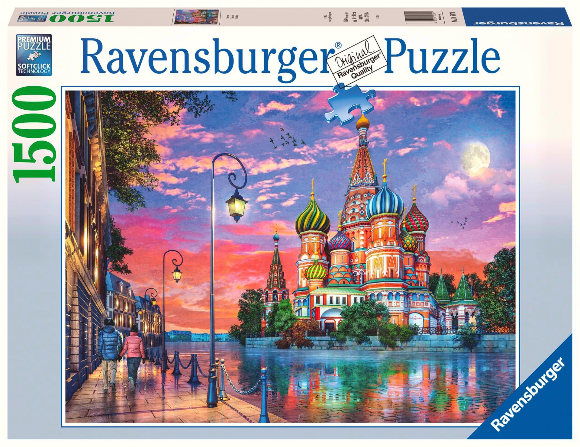Ravensburger - Puzzle 1500 - Moscow (10216597)
