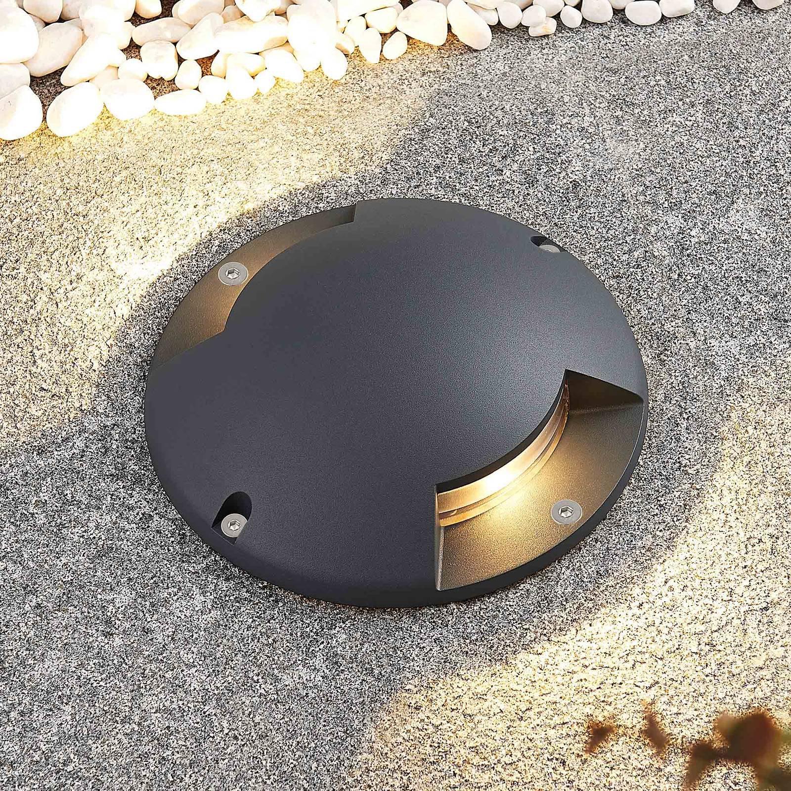 Lindby Cormac LED-bakkespot, 2 lyskilde