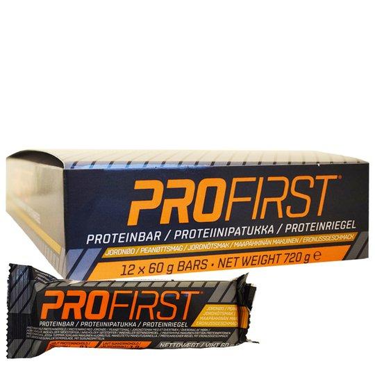 Hel Låda Proteinbars Jordnötter 12 x 60g - 67% rabatt