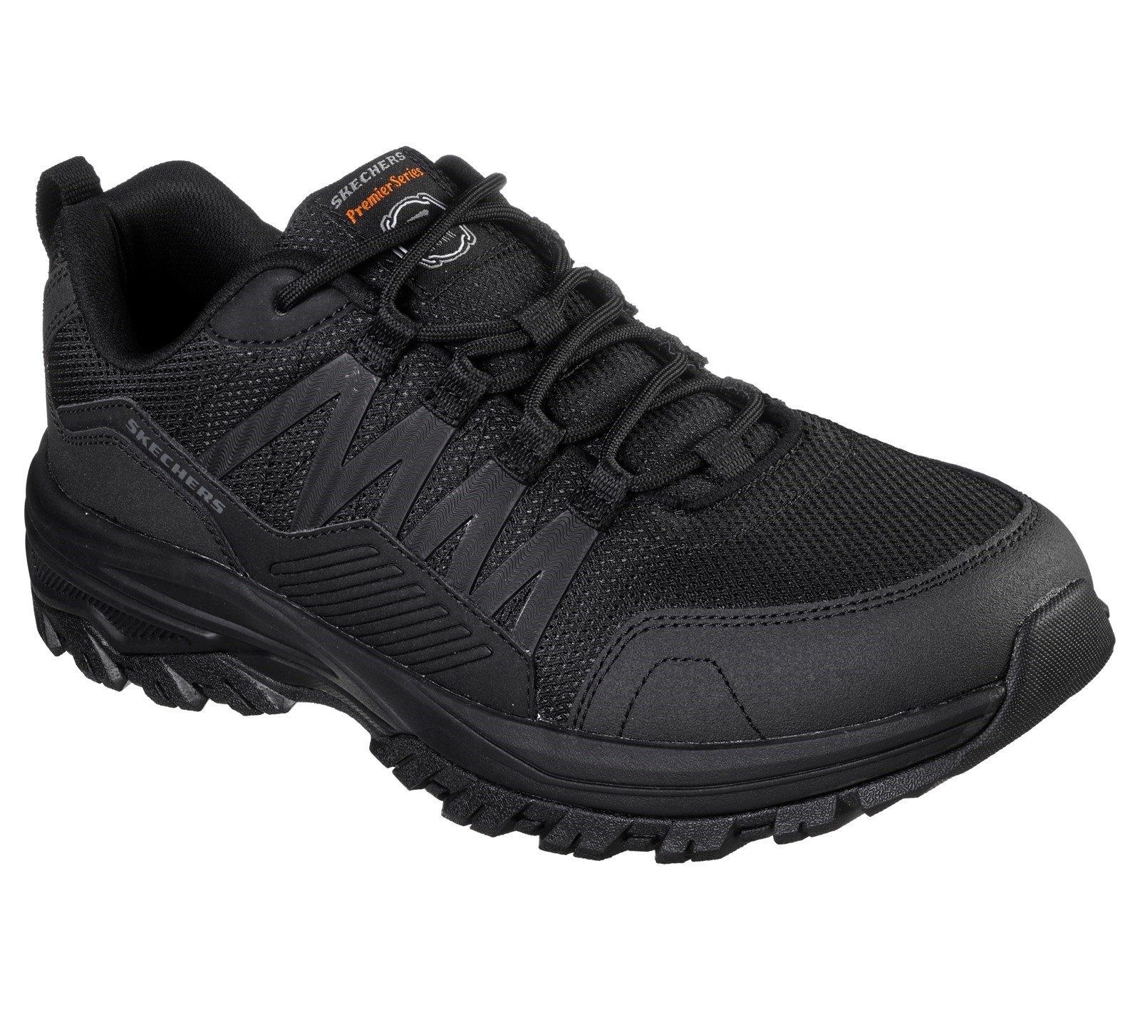 Skechers Unisex Fannter Occupational Trainer Black 32308 - Black 6