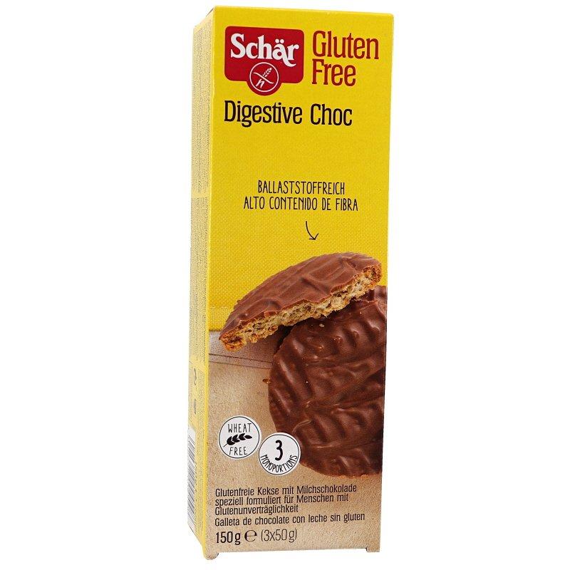 Digestivekeksit Suklaa Gluteeniton - 33% alennus