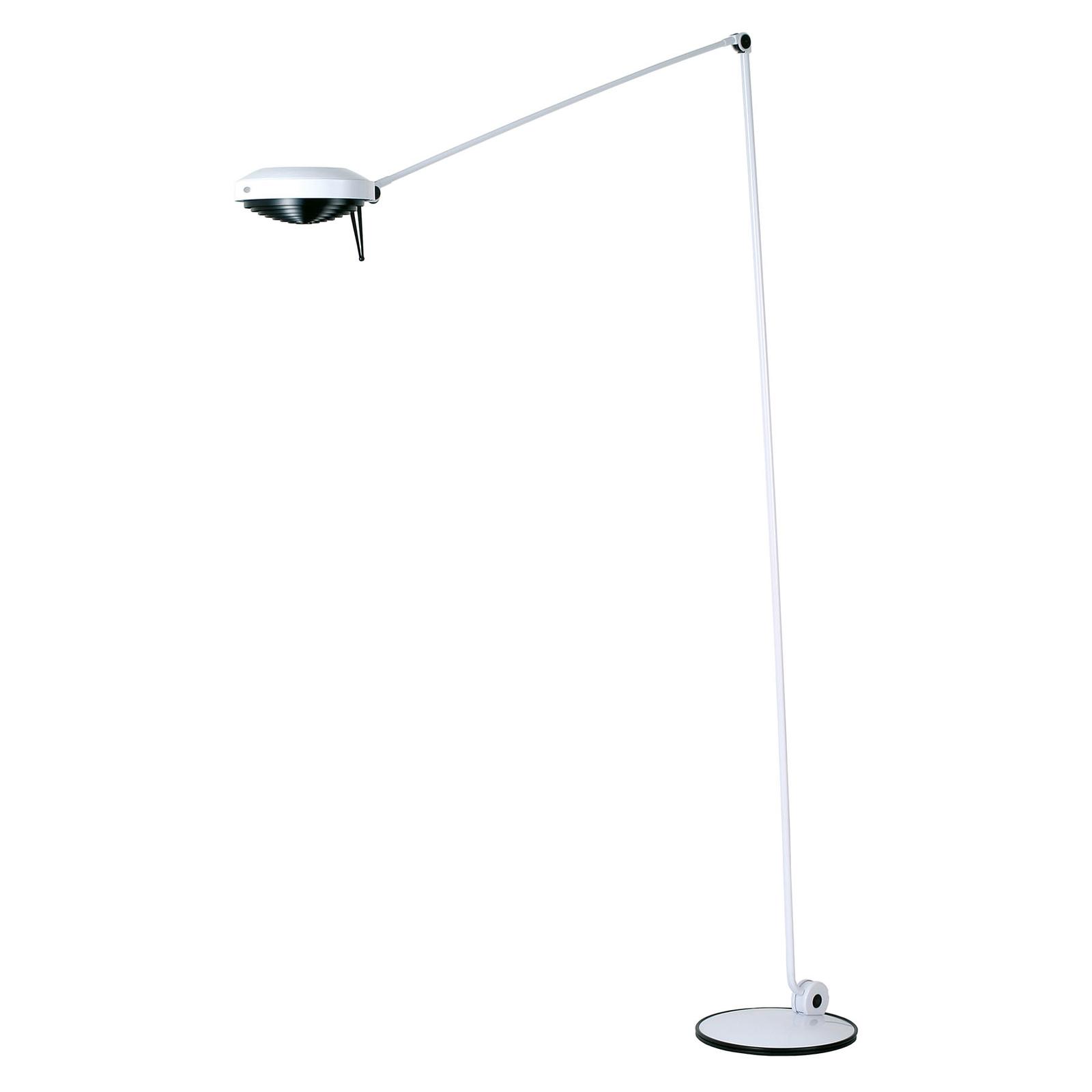 Lumina Elle -LED-lattiavalo, 200 cm, valkoinen