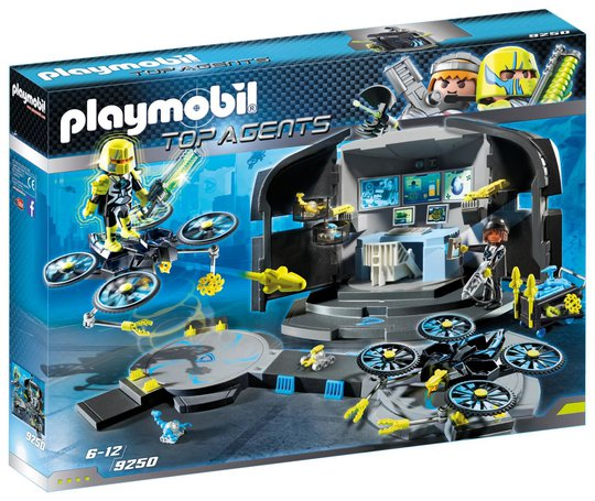Playmobil 9250 Dr.Drones Kommandosentral