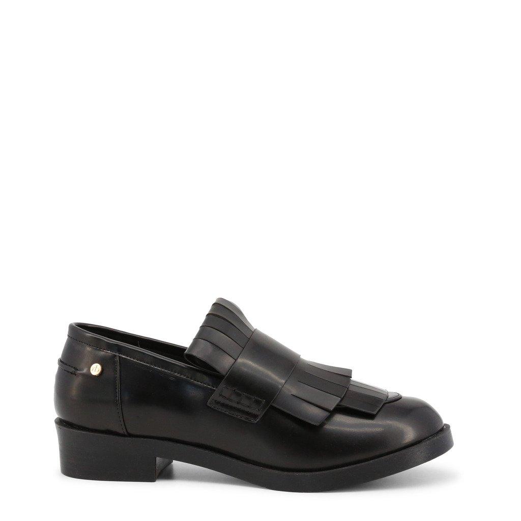 Roccobarocco Women's Loafer Black RBSC1JS01 - black EU 35
