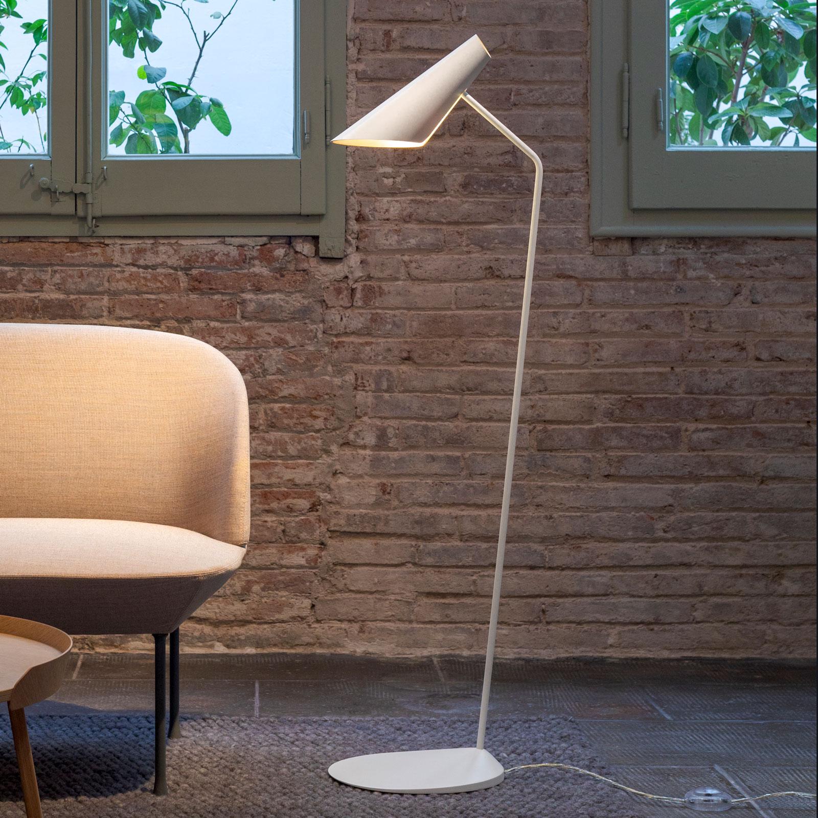 Vibia I.Cono 0712 designer-lattiavalo, valkoinen