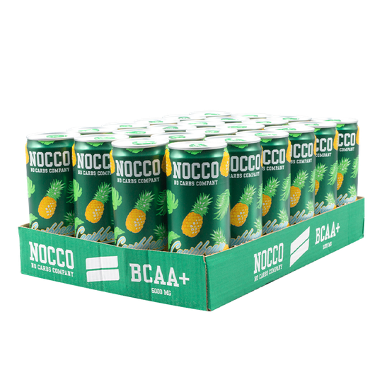 24 x NOCCO BCAA+ Koffeinfri, 330 ml