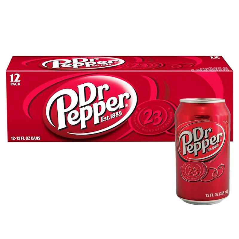 "Hel Låda ""Dr Pepper"" 12 x 355ml - 51% rabatt"