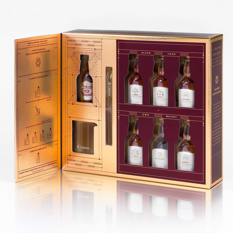 Chivas Regal Scotch Whisky Blend At Home Kit 6 x 5 cl
