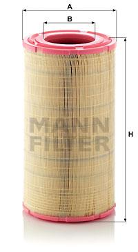Ilmansuodatin MANN-FILTER C 29 1410/2