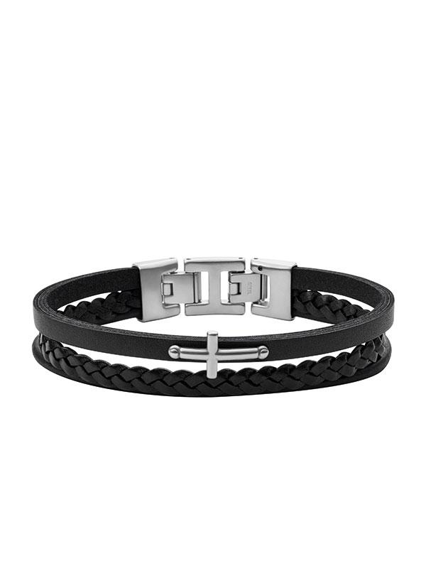 FOSSIL Armband Mens Dress - Svart JF03855040