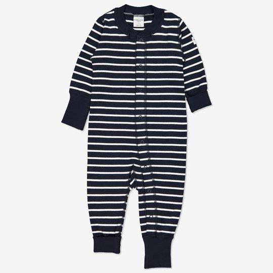 Dress stripet baby mørkblå
