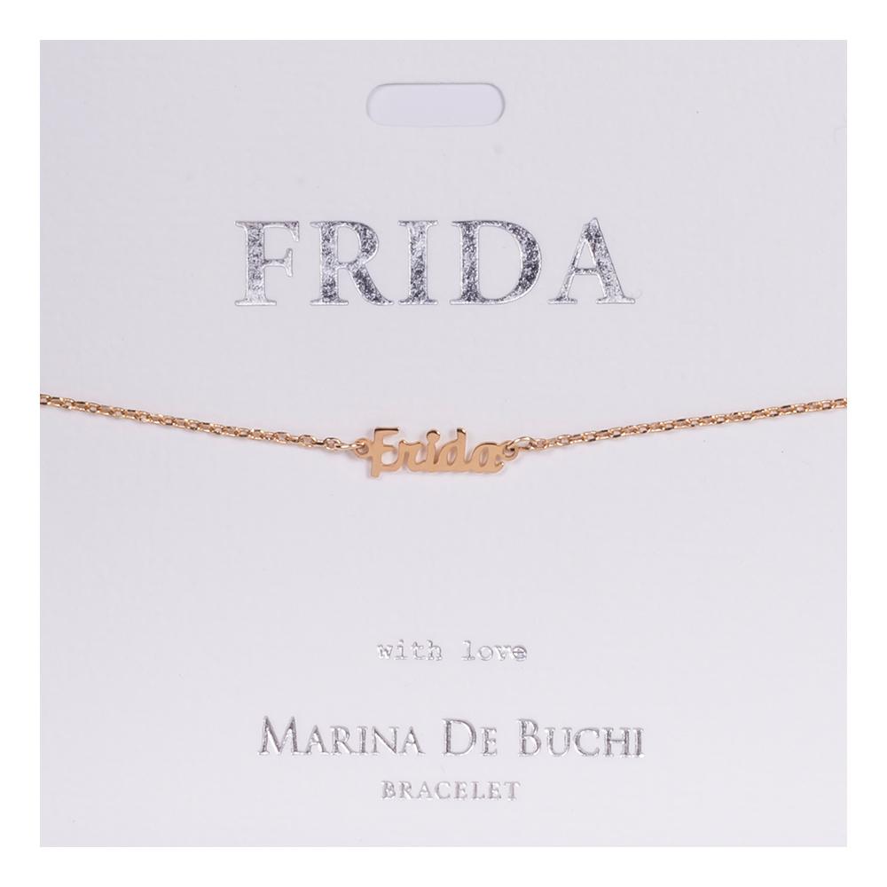 Namnarmband Guld - Frida
