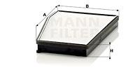 Raitisilmasuodatin MANN-FILTER CU 3040