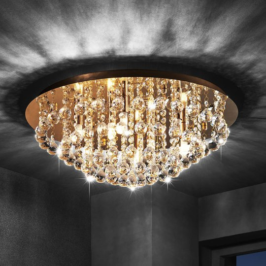 Lindby Gillion taklampe, 8 lyskilder