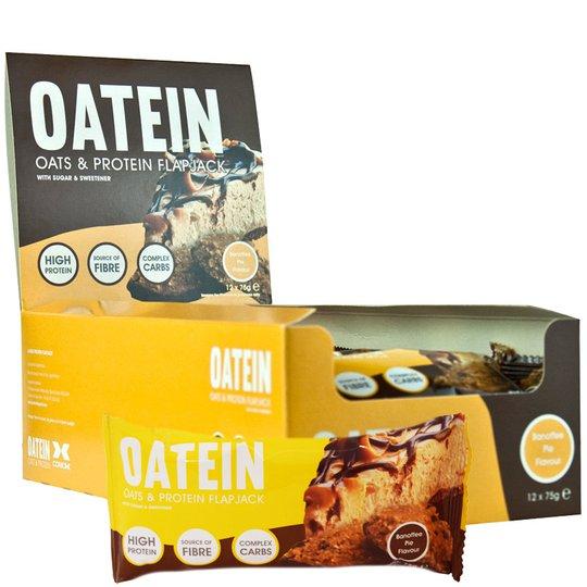 "Hel Låda Havre- Proteinbars ""Banoffee Pie"" - 46% rabatt"