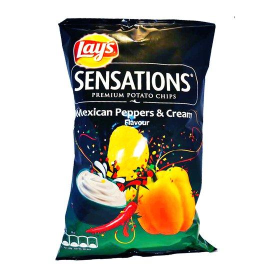 "Chips Mexican ""Peppers & Cream"" - 60% rabatt"