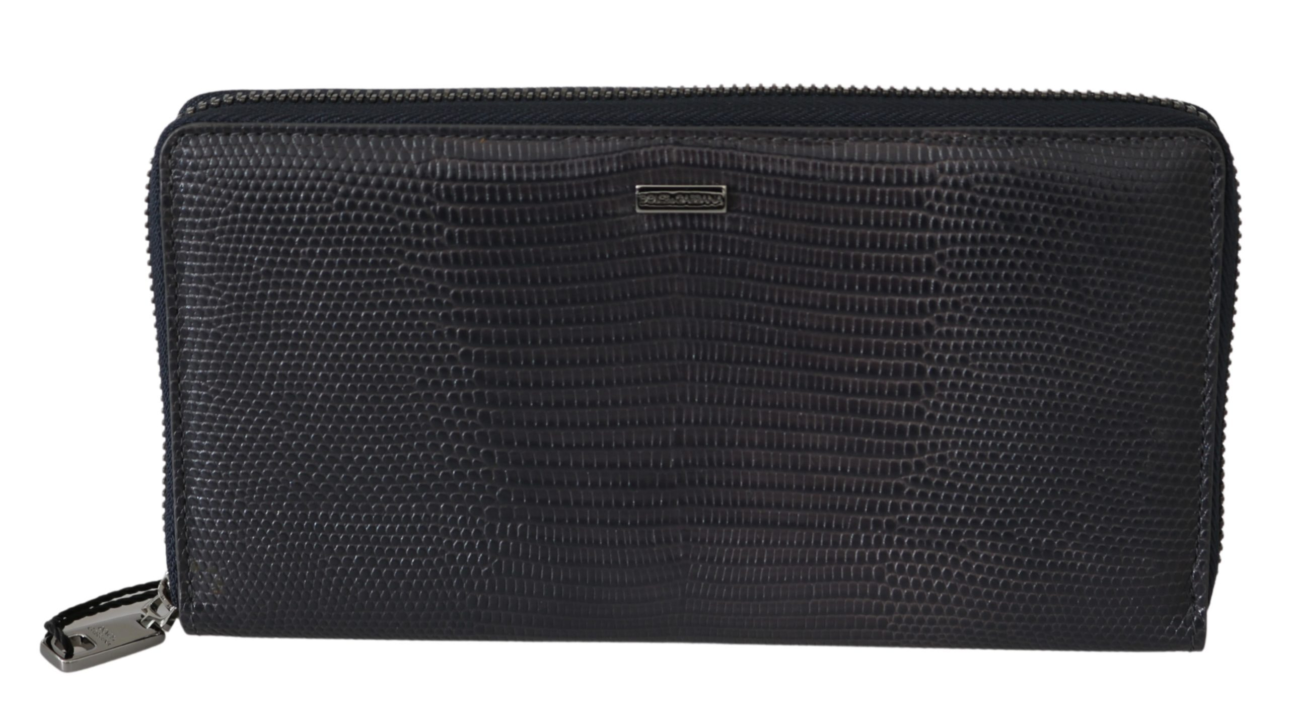 Dolce & Gabbana Men's Zip Aound Continental Wallet Black VAS9570