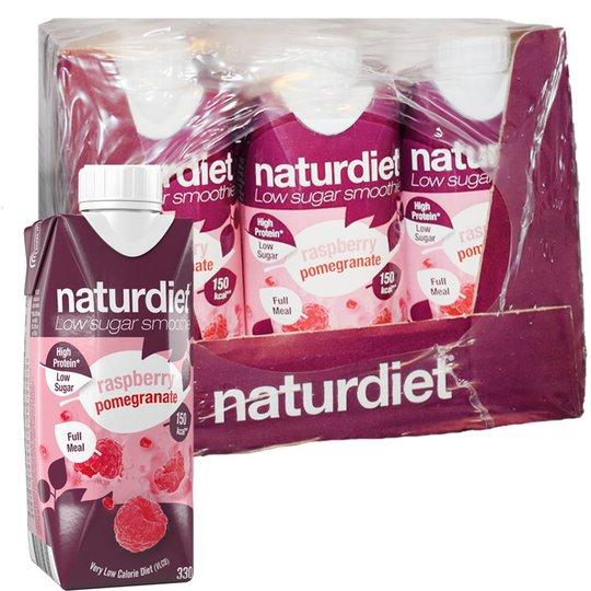Måltidsersättning Smoothie Pomegranate & Raspberry 12-pack - 28% rabatt